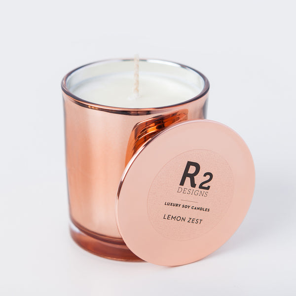 Copper Candle - Lemon Zest