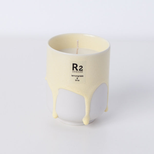 Scandi Melting Mug - Lemongrass & Lime