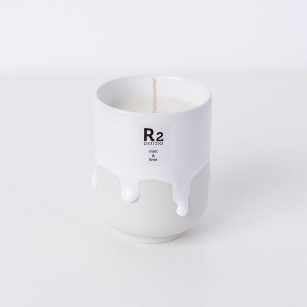 Scandi Melting Mug - Mint & Lime