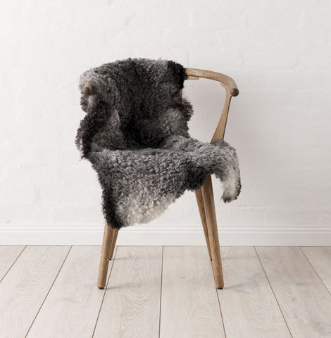Swedish Gotland Sheepskin - Dark Grey