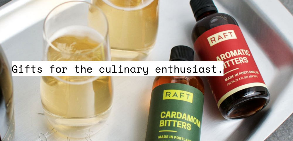 Gifts for the culinary enthusiast