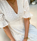 Katherine Eyelet Dress