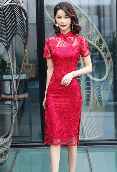 Darling Lace Cheongsam