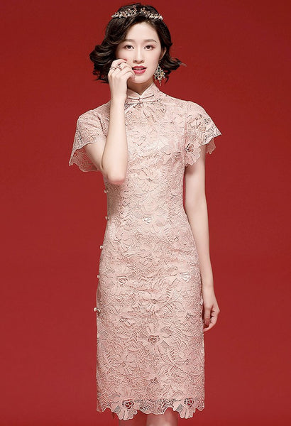 Evelyn Crochet Cheongsam (4475284815956)