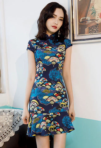 Kelly's Mermaid Cheongsam (4098385576020)