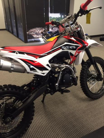 "XB 87 125 T 125cc dirt bike with 17"" Wheels $1399.00 new 2019"