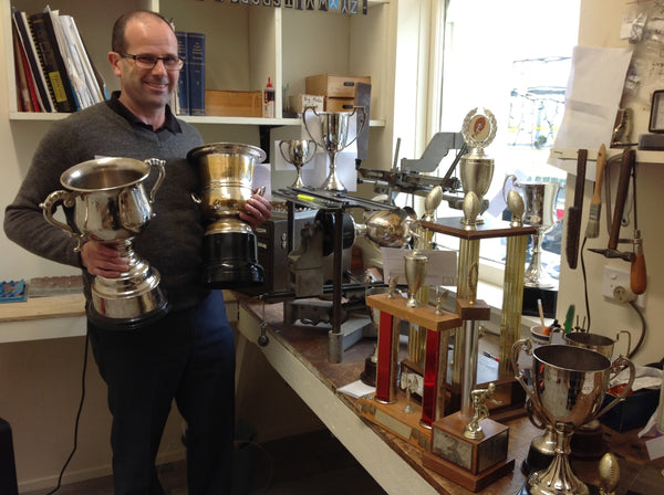 Our Engraver Phillip is happy to help you out