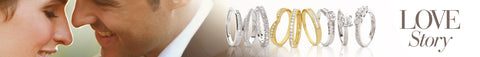 Bridal and wedding rings page title banner