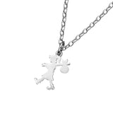 Karen Walker Small Runaway Girl Pendant