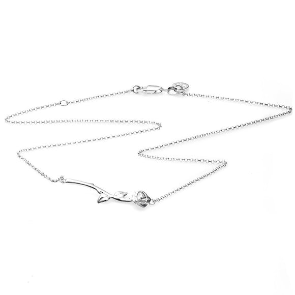 Stolen Girlfriends Club Rose Bar Necklace