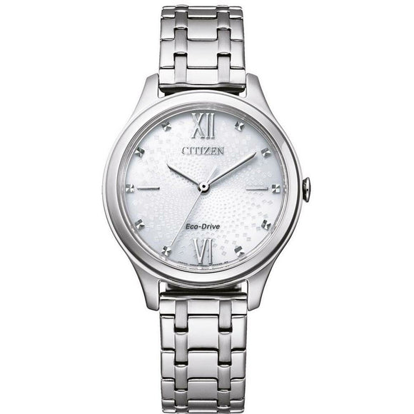 Citizen Eco-Drive Ladies Stainless Steel Watch