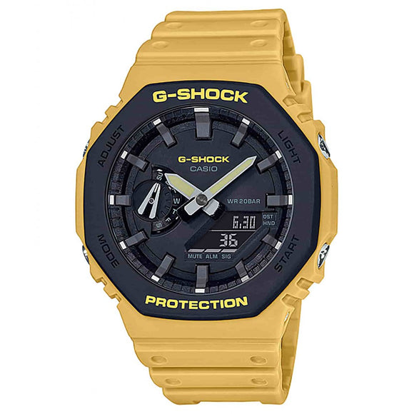 Casio G-Shock Mustard Carbon Core Guard