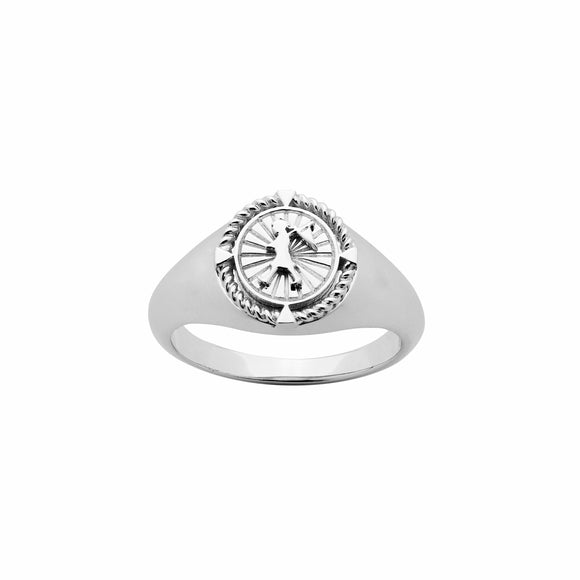 Karen Walker Voyager Ring Silver