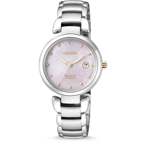 Citizen Ladies Titanium Eco-Drive