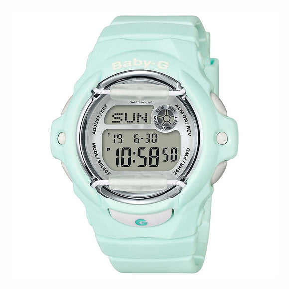 Casio Baby-G Pastel Mint Green