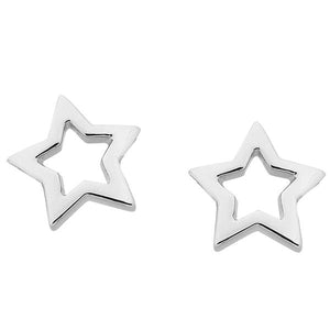 Karen Walker Mini Star Studs Silver