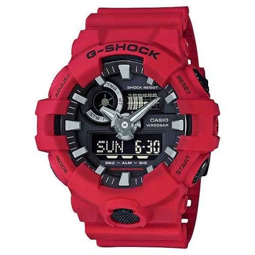 Casio G-Shock Red Ana-Digi