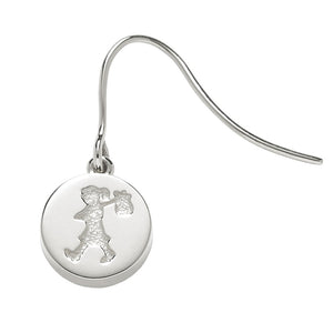 Karen Walker Runaway Girl Stamp Earrings