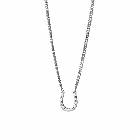 Karen Walker Mini Horseshoe Necklace