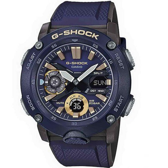 Casio G-Shock Navy Blue Carbon Core Guard