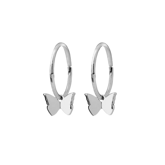 Karen Walker Butterfly Sleeper Earrings