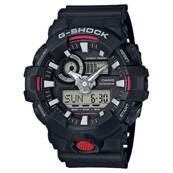 Casio G-Shock Black And Red Duo