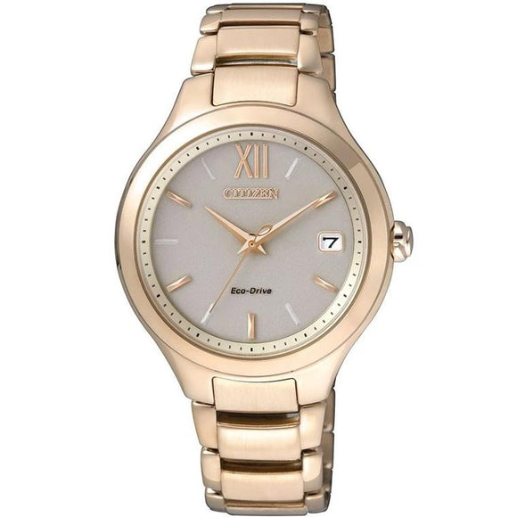 Citizen Ladies Rose Gold Eco-Drive