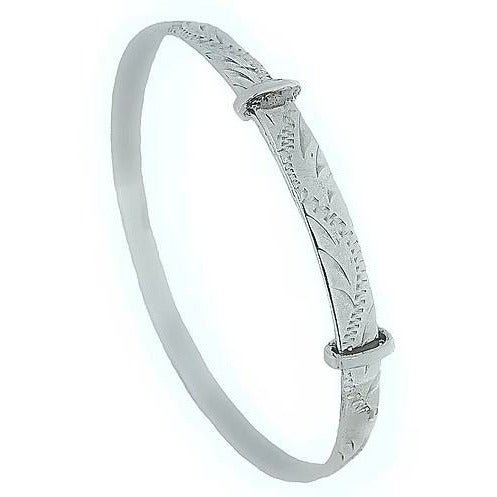Babies Engraved Expander Bangle