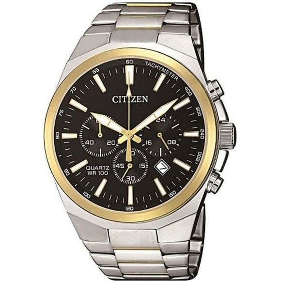 Citizen Quartz Gents Two-Tone Chronograph Watch