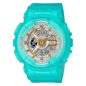 Casio Baby-G Turquoise Sea Glass & Gold Duo