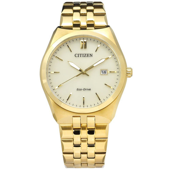 Citizen Gents Gold Eco-Drive