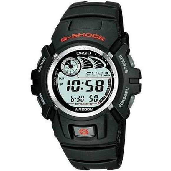Casio G-Shock Black With Red Accents Digital