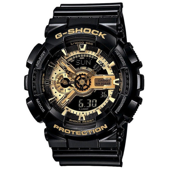 Casio G-Shock Black With Gold Duo