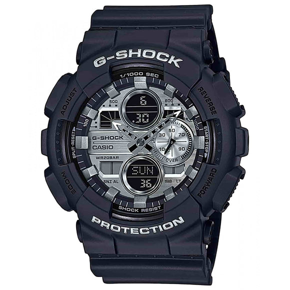 Casio G-Shock Silver Metallic Dial Duo