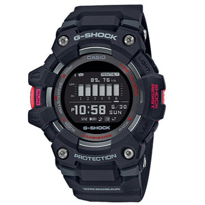 Casio G-Shock G-Squad Bluetooth Black With Red Accents