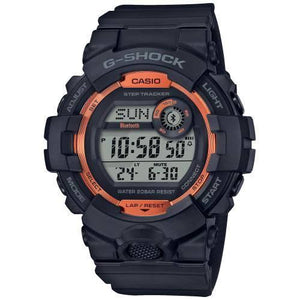 Casio G-Shock Bluetooth G-Squad Black With Orange