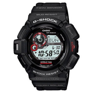 Casio G-Shock Black Solar Powered Mudman