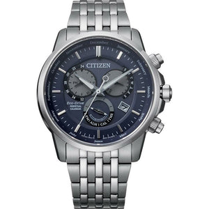 Citizen Eco-Drive Gents Stainless Steel Chronograph Watch