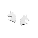 Karen Walker Mini Unicorn Studs Silver