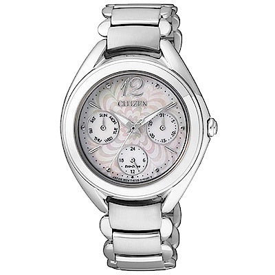 FD2020-54D Ladies Stainless Steel Eco-Drive Watch