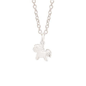 Sterling Silver Pony Pendant
