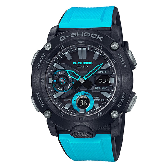 Casio G-Shock Cobalt Blue Carbon Core Guard