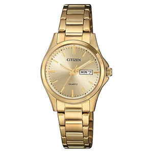 Citizen Ladies Gold With Gold Bracelet