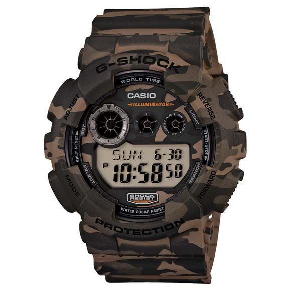 Casio G-shock Camo