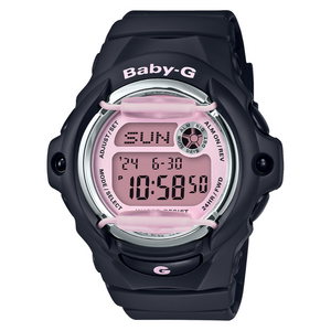 Casio Baby-G Black And Pale Pink