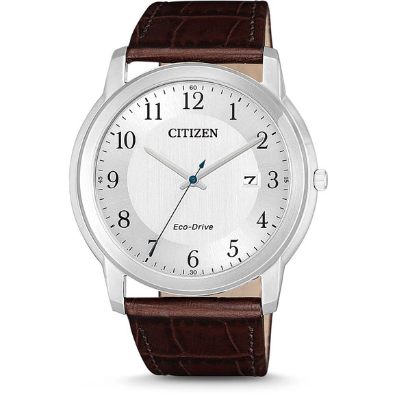 Citizen Gents Eco-Drive Leather Band