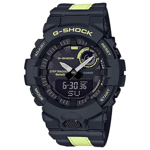 Casio G-Shock G-Squad Bluetooth Black With Reflective Stripe