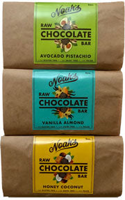 3 Raw Chocolate Bar Pack