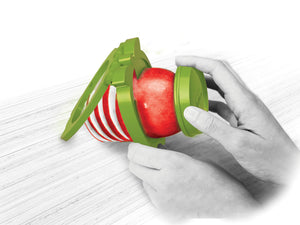 Talisman Designs 2-in-1 Apple Spiralizer Cutter and Corer - Simply Create Spiral Cut Apples - Handy Housewares