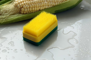 Bay Mill Soft Bristle Silk Removing Corn Cob Cleaning Brush - Handy Housewares